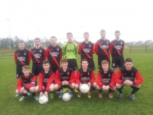Iorras Aontaithe U17 side, great come back in league outing V Ballina