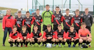 Iorras U16. Eric's daughter Lisa & son Kyle took charge of this fixture son Luke as Captain.